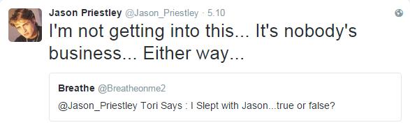 Odpowiedź Jasona Priestleya /Twitter /internet