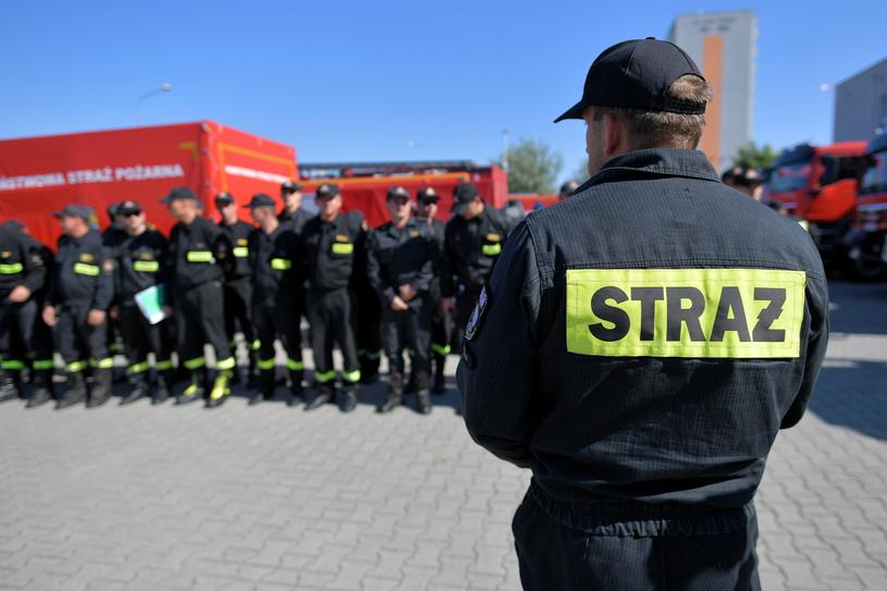 Odprawa przed wyjazdem do Szwecji /Jakub Kaczmarczyk /PAP