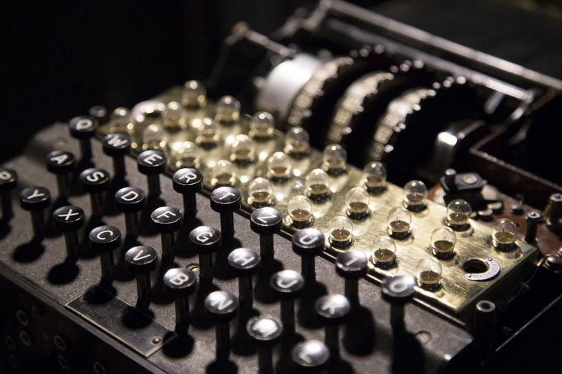 Odrestaurowana maszyna szyfrująca Enigma, zdj. ilustracyjne /Maciej Luczniewski /Reporter