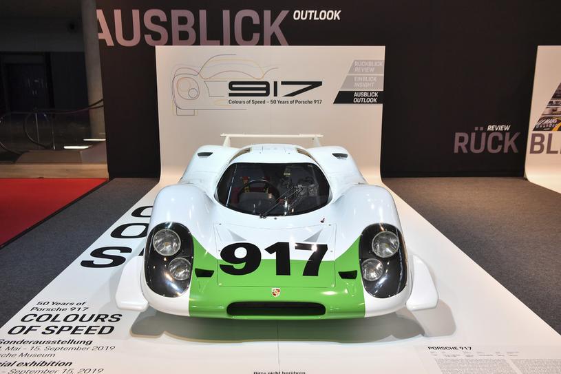 Odrestaurowane Porsche 917-001 /