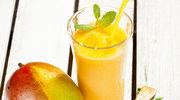 Odświeżający koktajl z mango