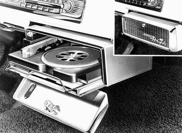 Odtwarzacze małych płyt gramofonowych /Daimler Chrysler /materiały prasowe