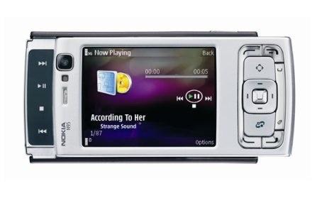 Odtwarzanie muzyki to już standard w telefonach - pod tym względem N95 nie zaskakuje /materiały prasowe
