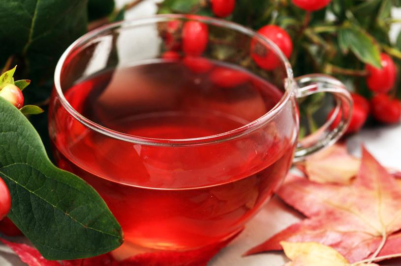 Odwar z dzikiej róży to idealny napój na jesień /123RF/PICSEL