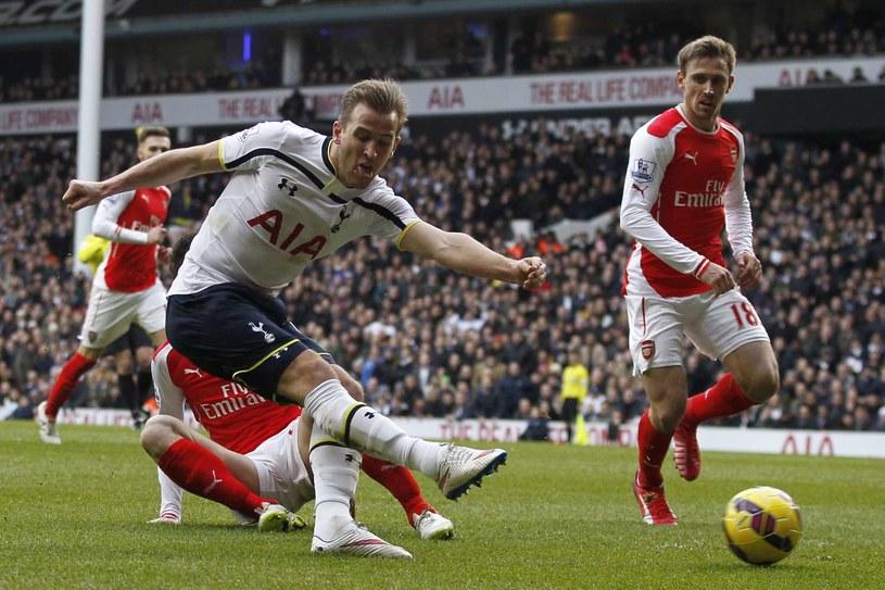 Odwieczna rywalizacja Tottenhamu z Arsenalem trwa /AFP