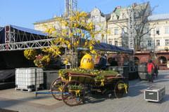 Odwiedź wielkanocny jarmark na krakowskim Rynku