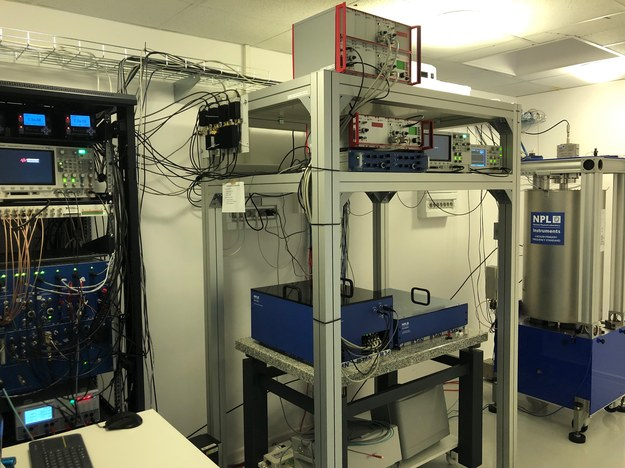 Odwiedzamy Laboratorium Czasu i Częstotliwości /Mateusz Chłystun /RMF FM