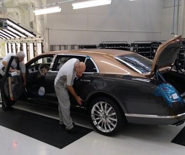 Odwiedziliśmy  fabrykę Bentleya