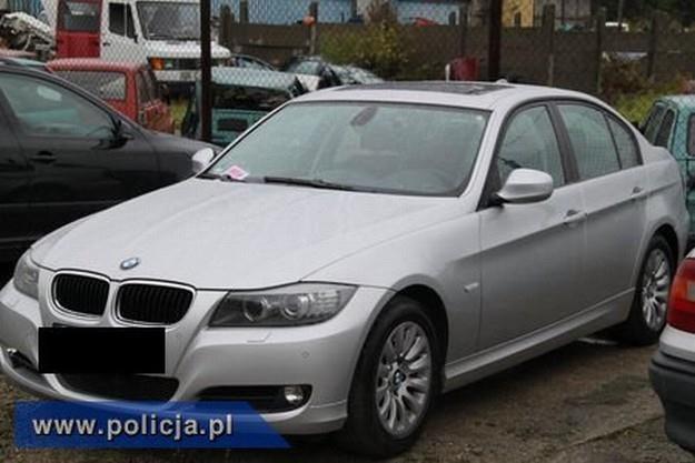 Odzyskane BMW /Policja