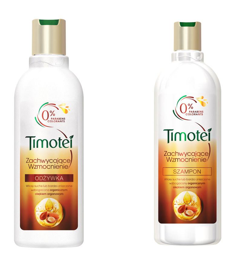 Odżywka i szampon Timotei /materiały prasowe