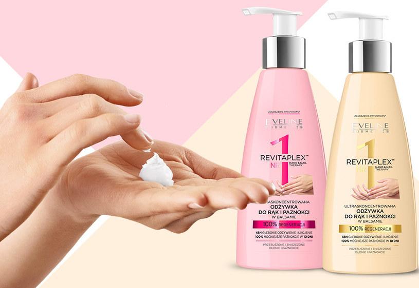 Odżywki do rąk i paznokci w balsamie Revitaplex Eveline Cosmetics /materiały prasowe
