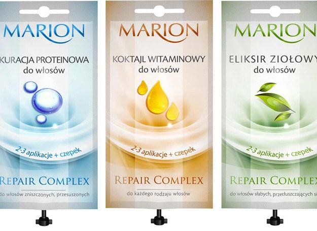 Odżywki do włosów firmy Marion /materiały prasowe