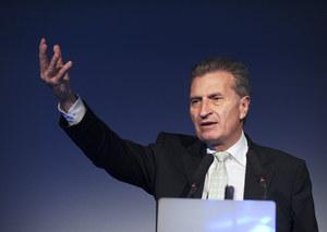 Oettinger: Dostałem list Ziobry, ale jeszcze go nie przeczytałem