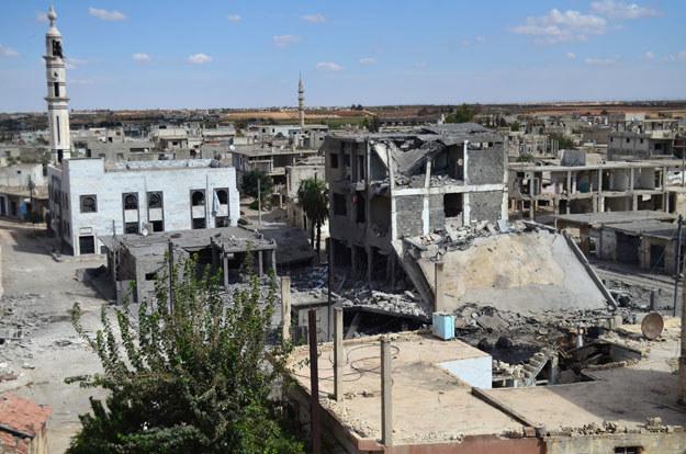 Ofensywa miała miejsce m.in. wokół miasta Talbisa /AFP