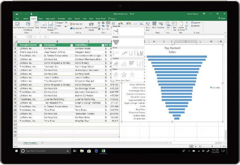 Office 2019 - Excel /materiały prasowe