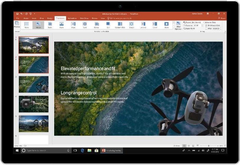 Office 2019  - PowerPoint /materiały prasowe