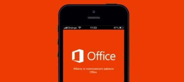 Office Mobile jest już do pobrania z App Store /materiały prasowe