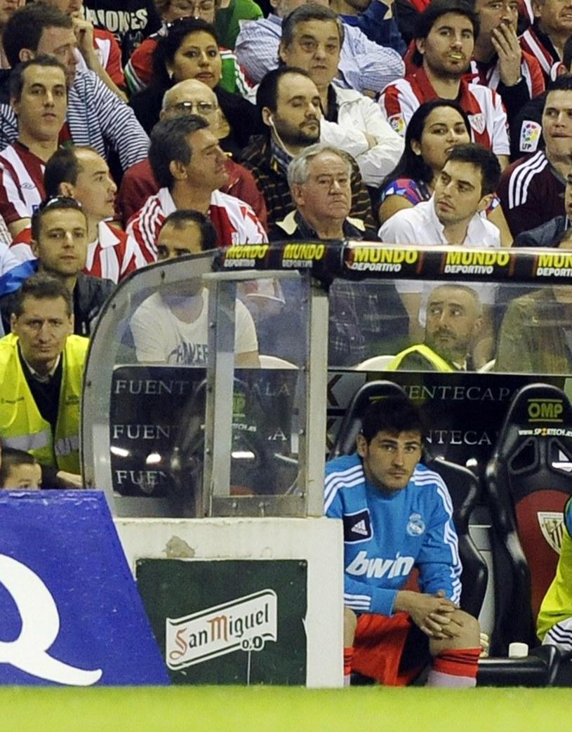 Ofiara konfliktu z Mou - Iker Casillas /AFP