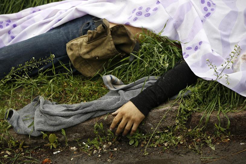 Ofiara starć w Mariupolu /Agencja FORUM