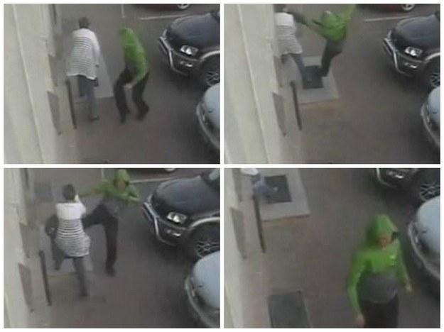 Ofiarą zamaskowanego napastnika padły dwie przypadkowe kobiety. /YouTube