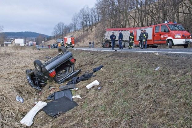 Ofiary, ale i sprawcy wypadków, to ludzie, którzy zrządzeniem losu znaleźli się w niewłaściwym czasie w niewłaściwym miejscu /Przemysław Ziemacki /East News