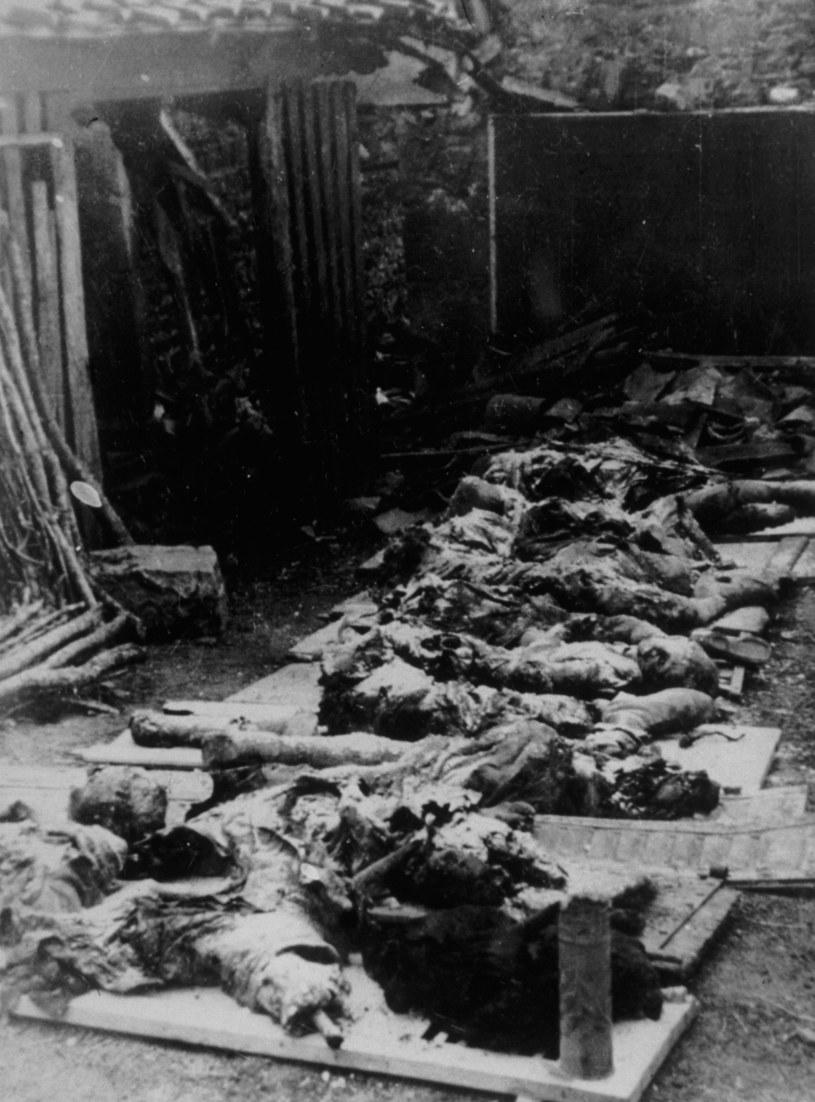 Ofiary nazistowskiej zbrodni /Getty Images