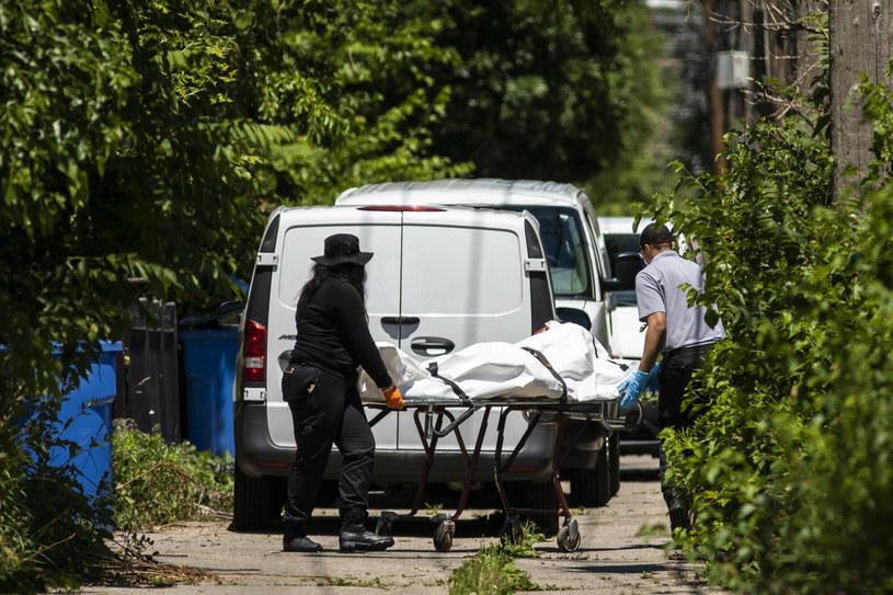 Ofiary strzelaniny w Chicago /Chicago Sun-Times/Associated Press/East News /East News