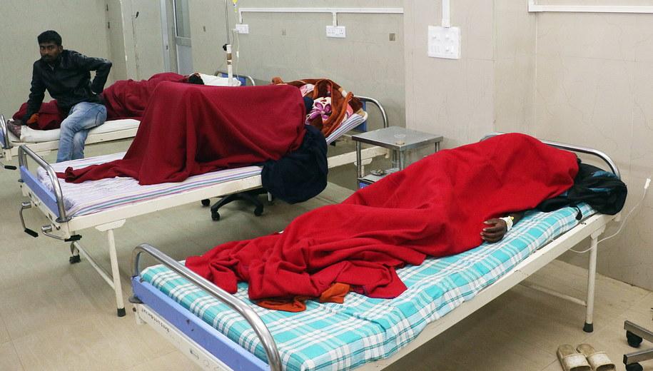 Ofiary zatrucia w szpitalu / STR   /PAP/EPA