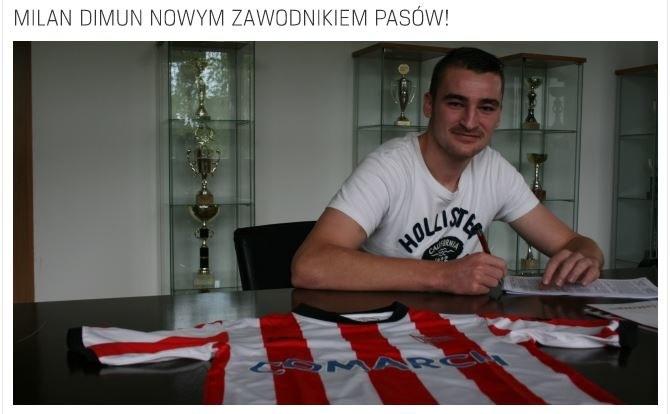 Oficjalna strona internetowa krakowskiego klubu /cracovia.pl /Internet