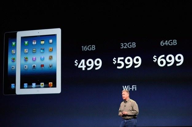 Oficjalne ceny nowego iPada (wersja WiFi) /AFP