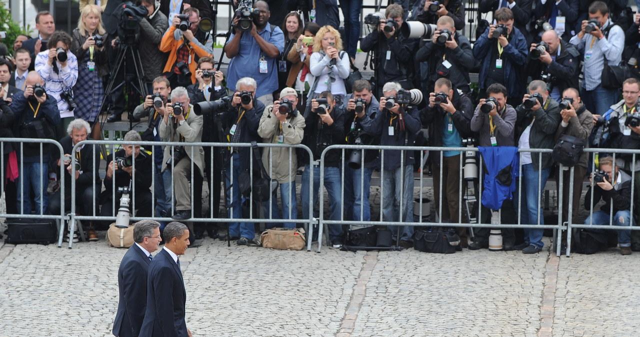 Oficjalne powitanie Baracka Obamy