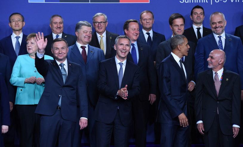 Oficjalne rozpoczęcie szczytu NATO /Radek Pietruszka /PAP