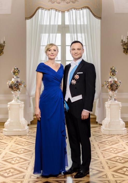 Oficjalne zdjęcie pary prezydenckiej /Twitter