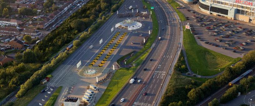 Oficjalnie zdjęcia planowanego lotniska /materiały prasowe