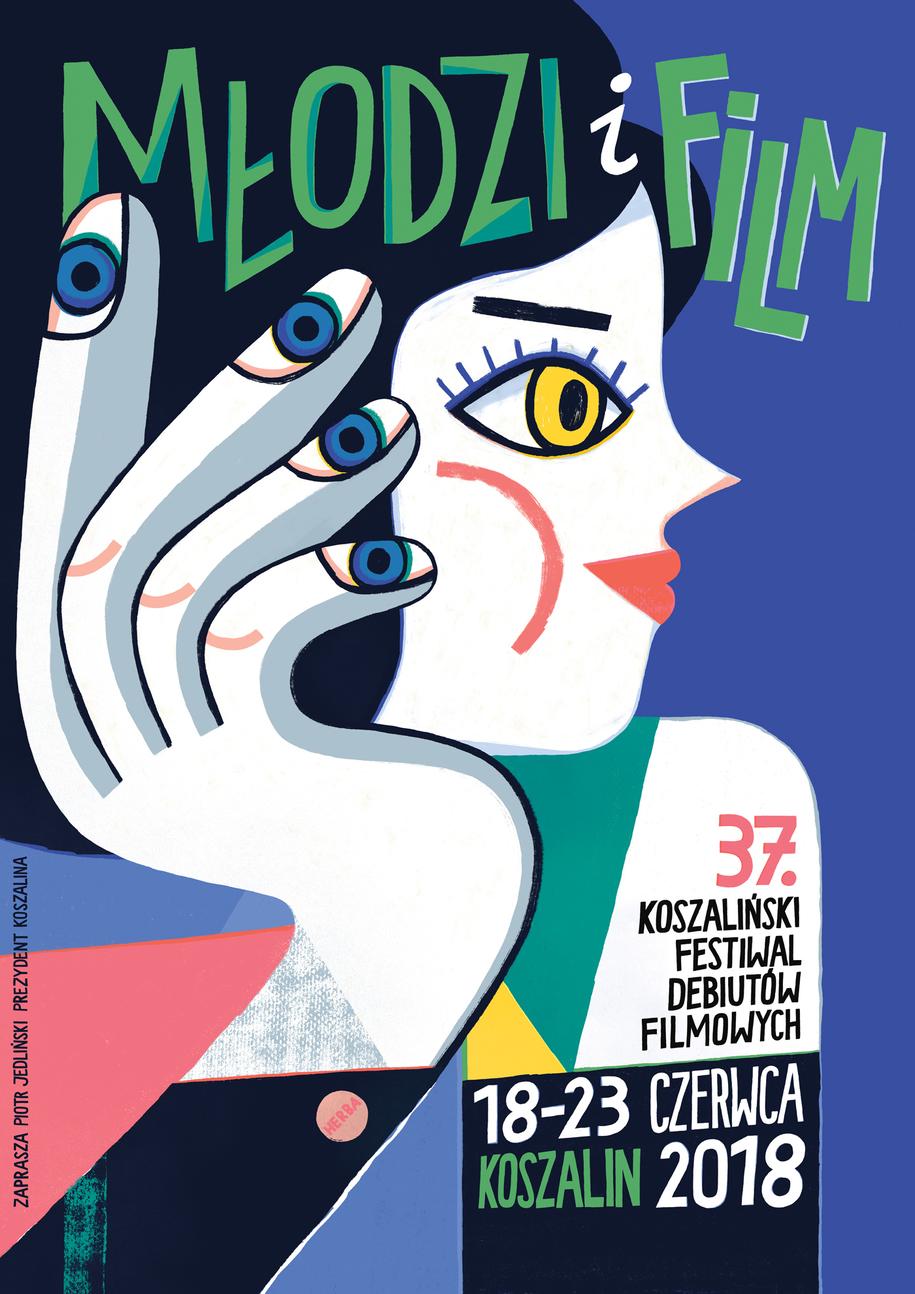 Oficjalny plakat festiwalu /materiały prasowe /