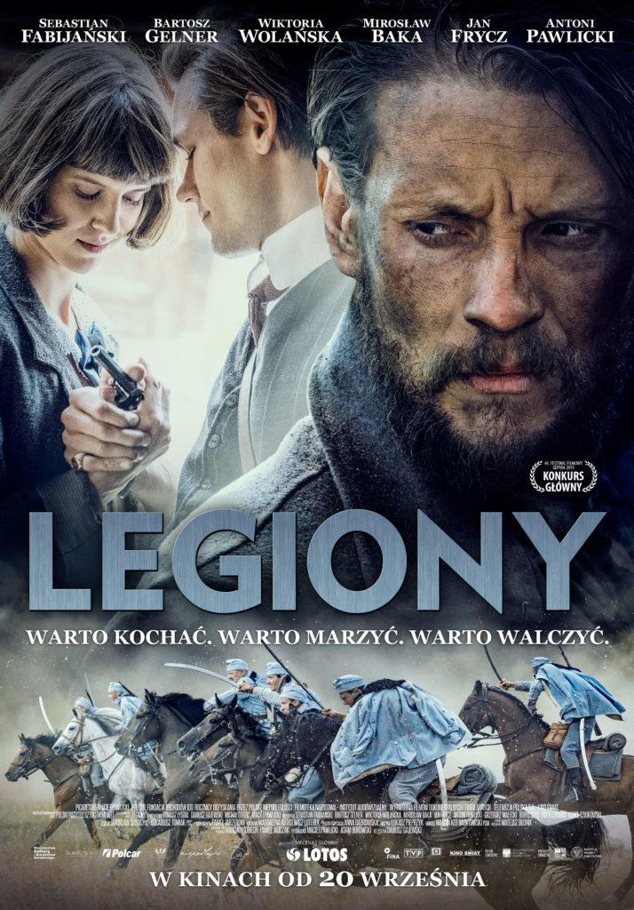 """Oficjalny plakat filmu """"Legiony"""" /Kino Świat /Materiały prasowe"""
