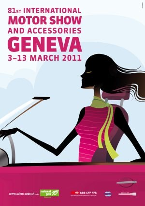 Oficjalny plakat salonu w Genewie /