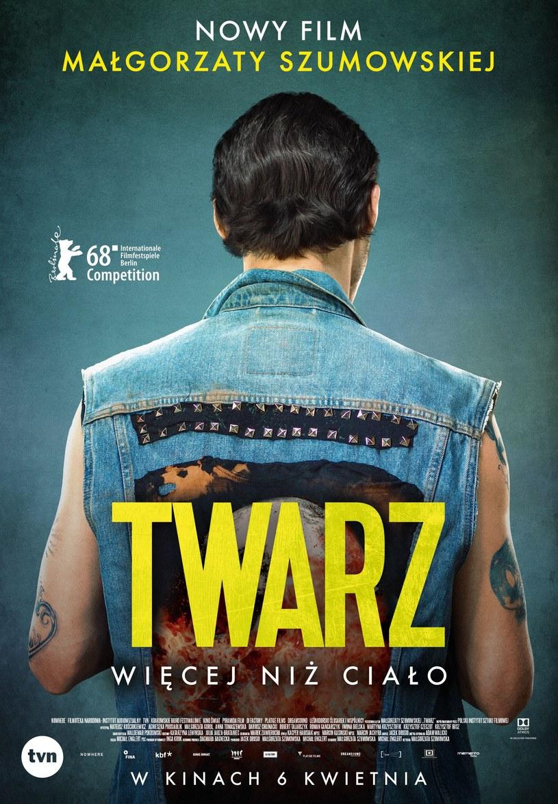 """Oficjalny polski plakat """"Twarzy"""" /materiały dystrybutora"""
