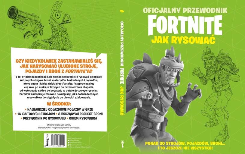 Oficjalny przewodnik Fortnite. Jak rysować /materiały prasowe