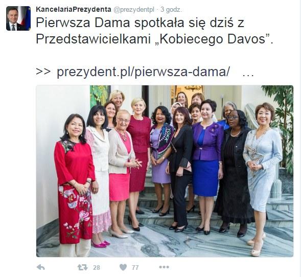 Oficjalny Twitter Kancelarii Prezydenta /fot. Krzysztof Sitkowski / KPRP /Twitter