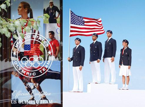 Oficjalnym projektantem reprezentacji USA jest Ralph Lauren /Agencja FORUM