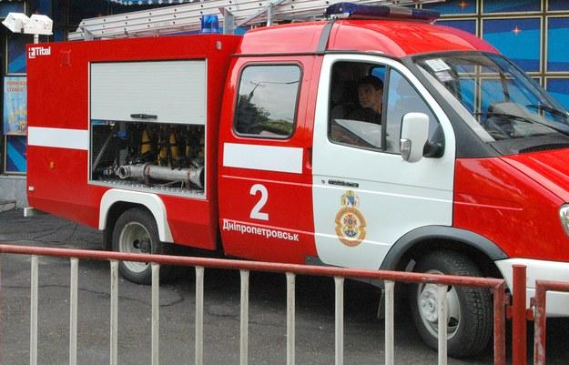 Ogień gasiło dziesięć zastępów straży /ITAR-TASS    /PAP