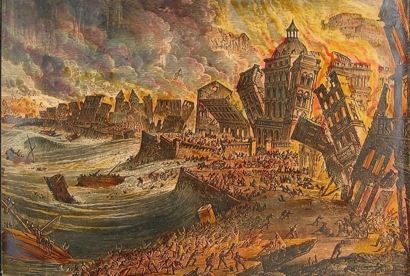 Ogień i woda. W 1755 roku zebrały one w Lizbonie śmiertelne żniwo /materiały prasowe