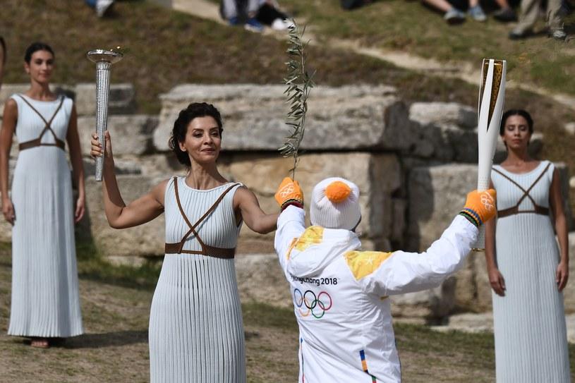 Ogień olimpijski wkrótce dotrze do Korei /AFP