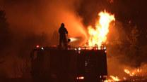 Ogień trawi Grecję. Mieszkańcy się nie poddają