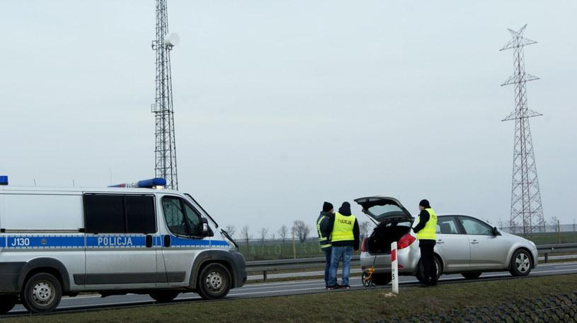 Oględziny na autostradzie A4 /Brzeg24 /PAP