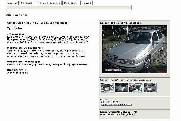 Ogłoszenie komisu / Kliknij /INTERIA.PL