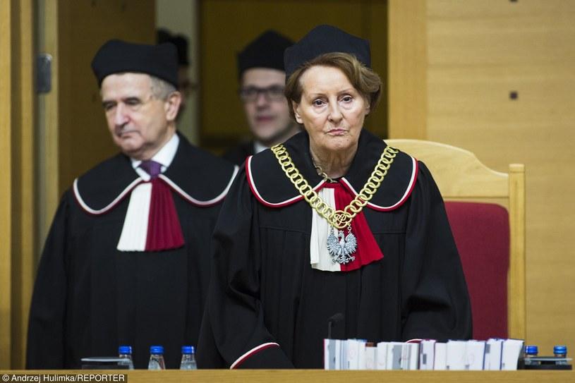 Ogłoszenie wyroku Trybunału Konstytucyjnego 3 grudnia 2015 r. /Andrzej Humlinka/Reporter /Reporter