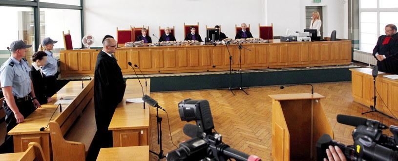 Ogłoszenie wyroku w procesie Katarzyny W. (2L) /Andrzej Grygiel /PAP