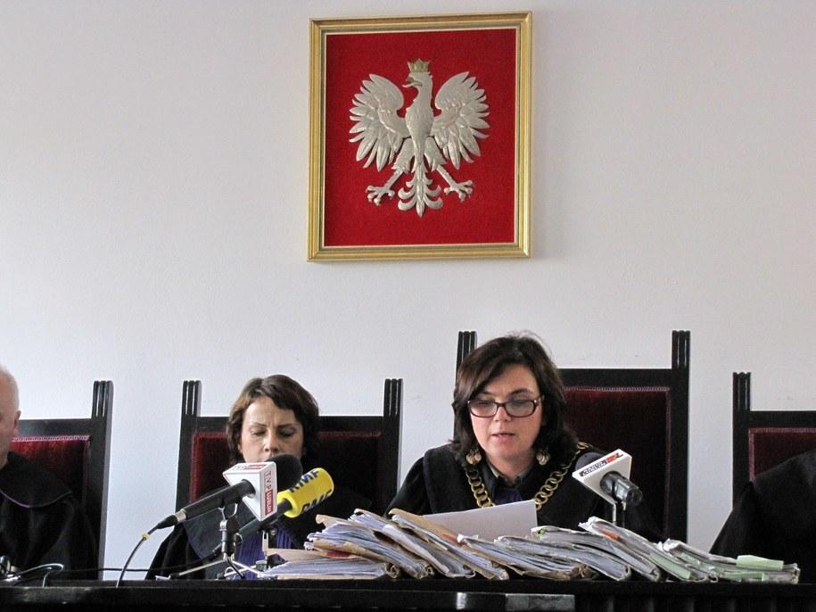 Ogłoszenie wyroku /Krzysztof Kot /RMF FM